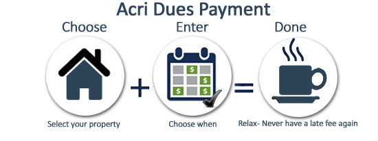 Use the Acri Dues Payments