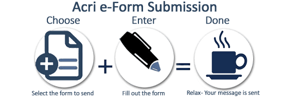 Acri Realty e-Forms Submissions